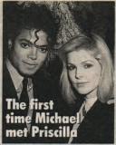 MJ and Priscilla Presley