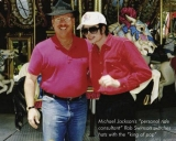 Michael with Bob Swinson