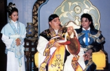 Michael in Japan wearing a Blue/Gold Kimono!