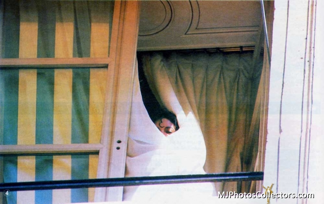 MJ - Paris Hotel 1988