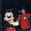 Michael at Disney World posing for an attraction.